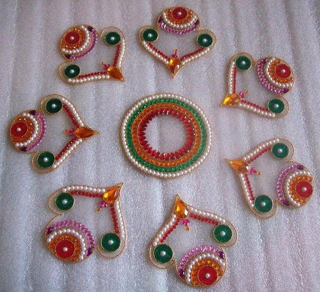 readymade rangoli designs online