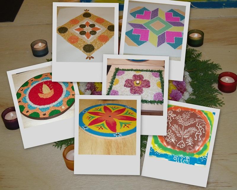 significance of rangoli diwali