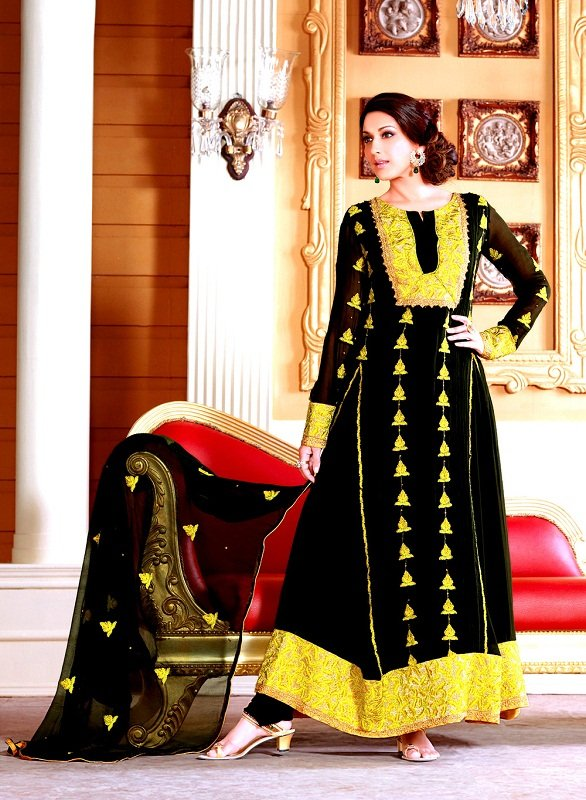 sonali bendre best anarkali suit