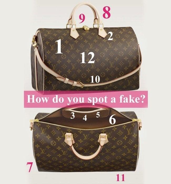 fendi bags outlet online b602  Spot a fake handbag