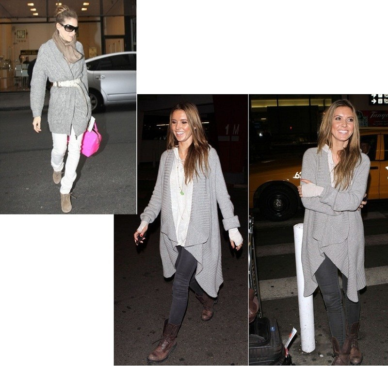celeb-in-Chunky-Knit-Cardigan-sarah-jessica-parker