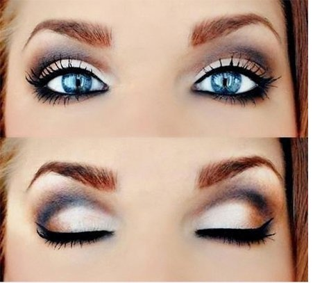 Cat Eye Makeup For Blue Eyes