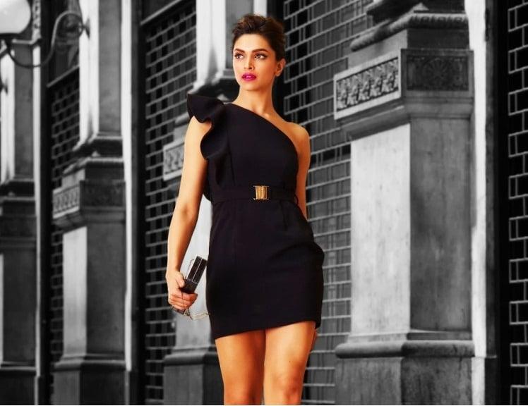 Deepika Padukone Van HeuSen fashion impression