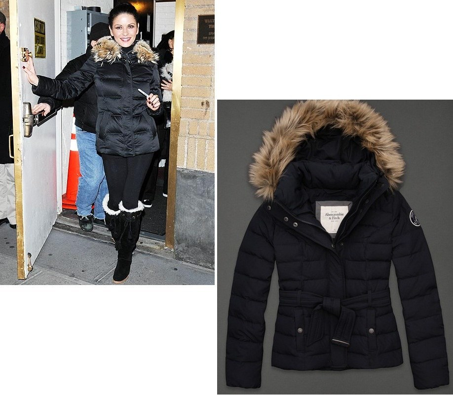 celeb-in-fur-trimmed-puffer-coat-catherine-zeta-jones