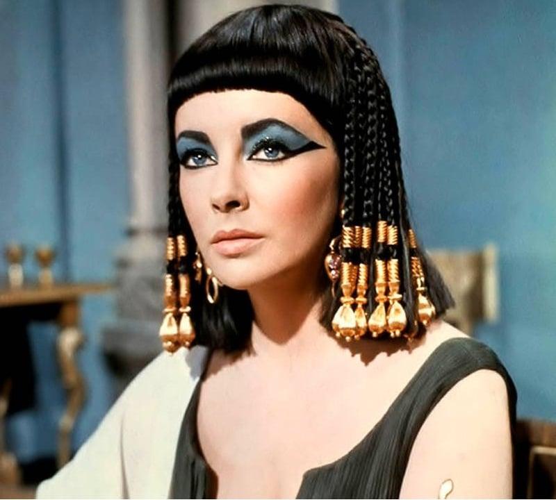 Elizabeth Taylor Cleopatra ye makeup