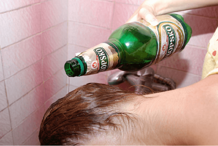 beer-conditioning-for-dry-hair