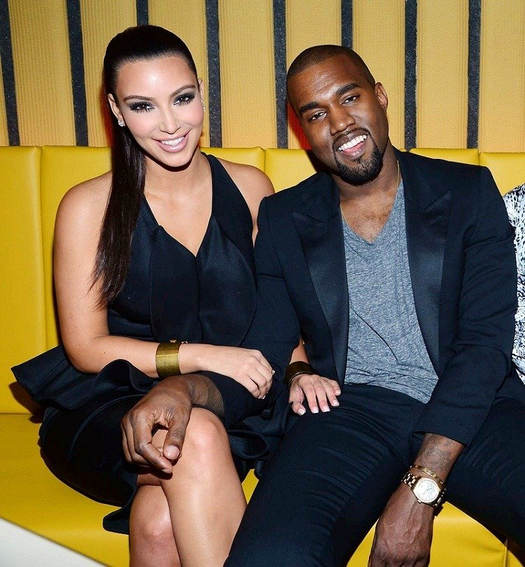 Kim-Kardashian and Kanye West
