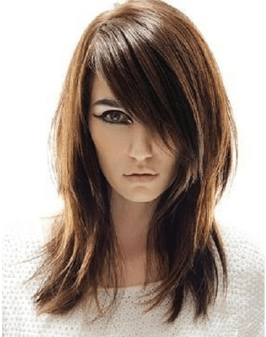 Layered Look Hairstyle