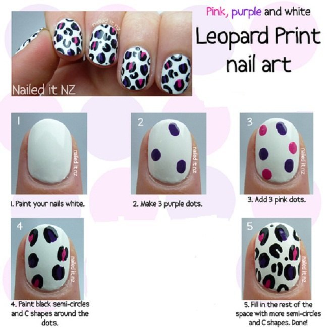 leopard-print-nail-art-tutorial-for-short-nails