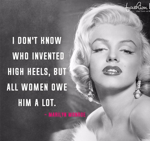 Marylin Monroe Style Quotes