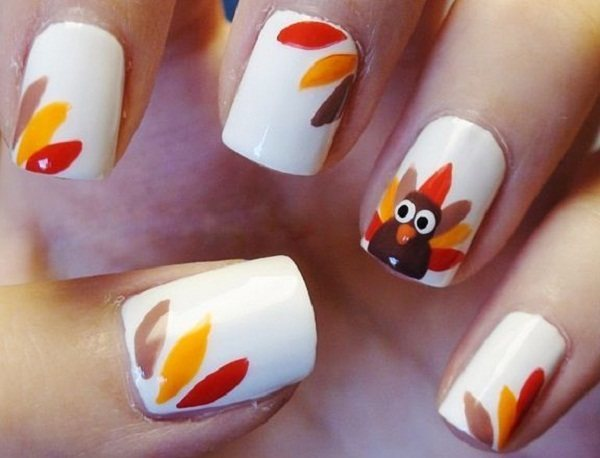 thanksgiving nails designs