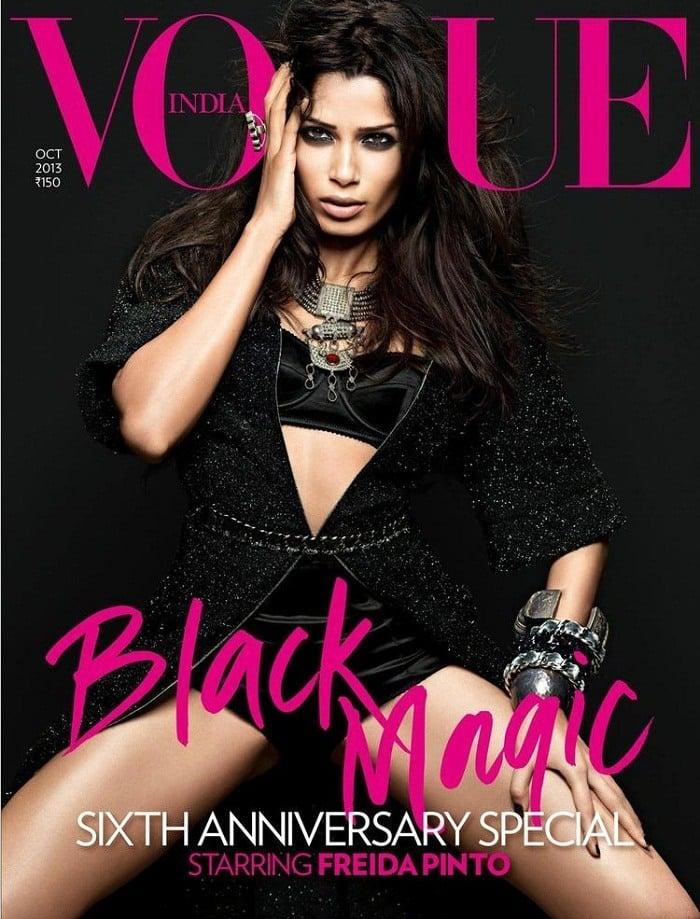 black-magic-freida-pinto-sizzles-cover-vogue-india-nov-2013