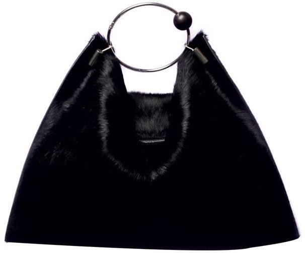 Céline-Black-mink-bag