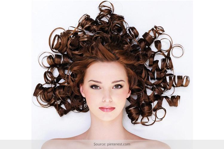 curly hair falls