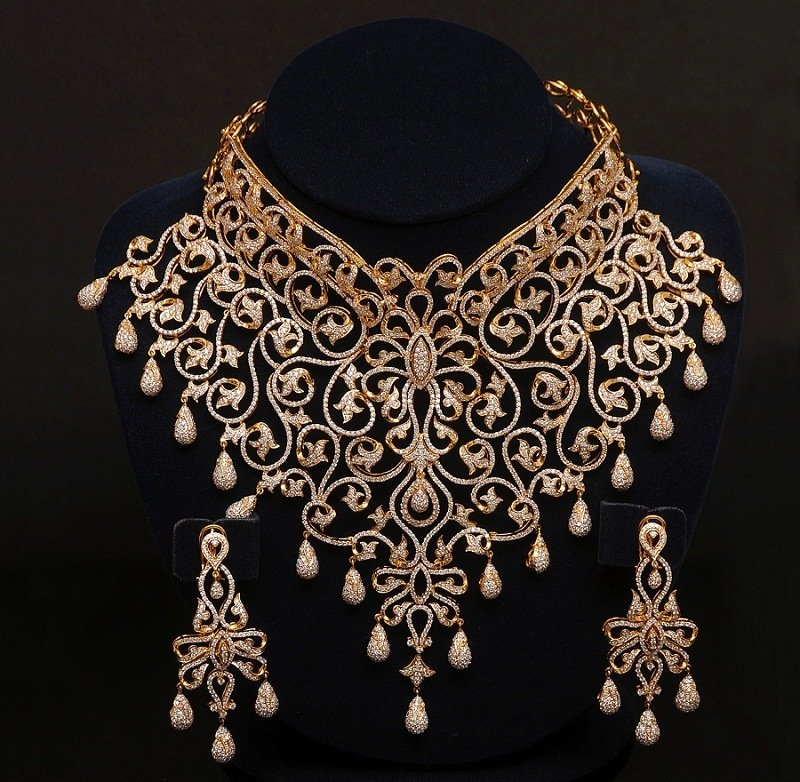 indian-bridal-jewelry-diamond-choker-set