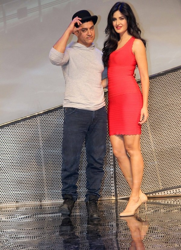 katrina kaif in launch of dhoom 3
