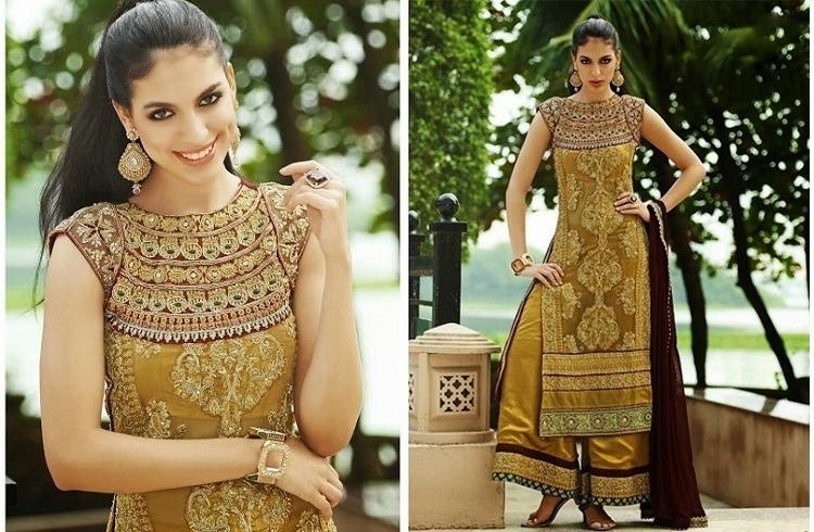 Pakistani Style Salwar Dresses
