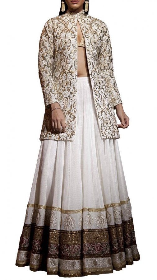 siddartha tytler White Gauze Skirt