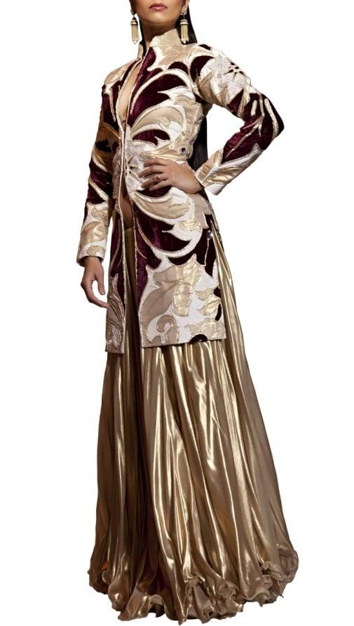 siddartha tytler golden umbrella skirt