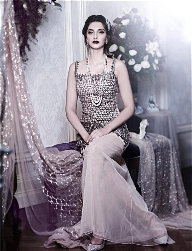 sonam kapoor photoshoot for shehla khan