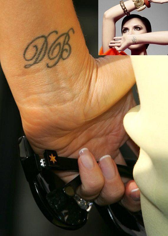 Victoria Beckham Tattoo