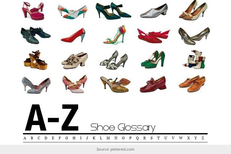 A to Z of Shoes