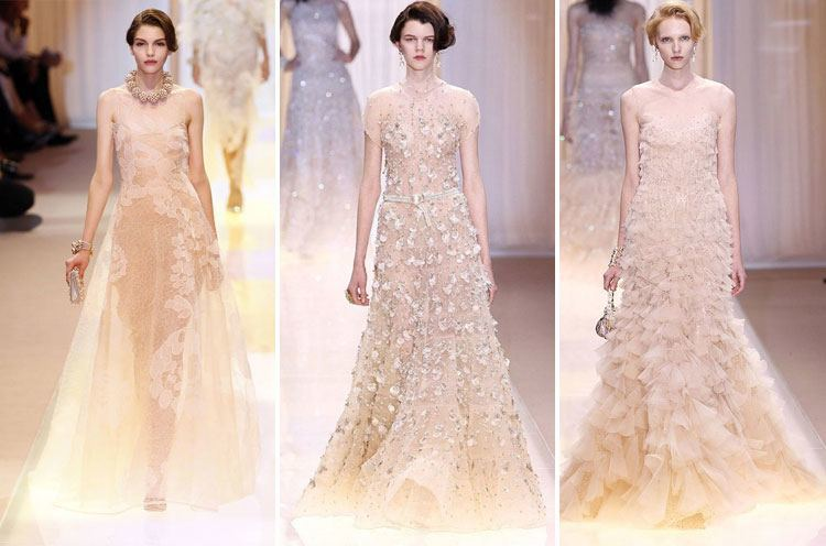 Armani Prive Haute Couture Fashion Week