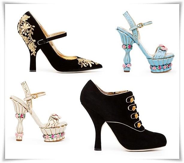 Best of Dolce and Gabbana 2013 Trends Дольче Габбана Обувь 2013
