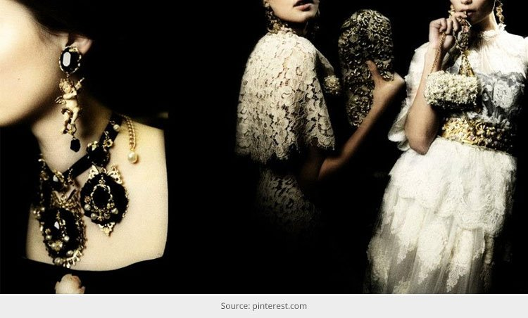 Dolce and Gabbana Baroque Accessories