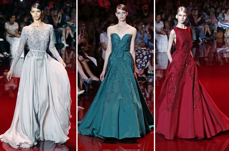Elie Saab Fall 2013 Couture Fashion Show