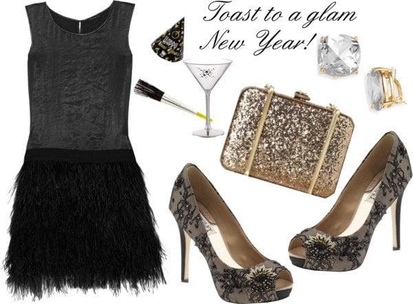 Fashionable New Years Eve