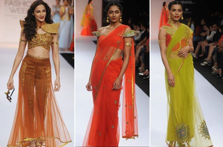 Glamorous Indian Fashion Debuts Shilpa Reddy