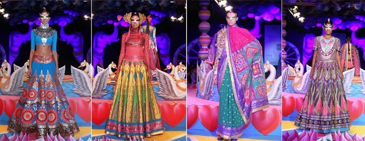 Manish Arora PCJ Delhi Couture Week 2013