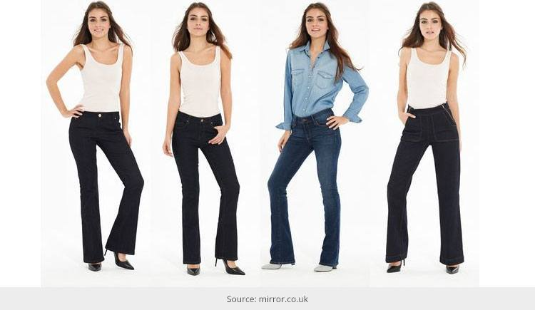 Find Perfect Jeans Your Body Type