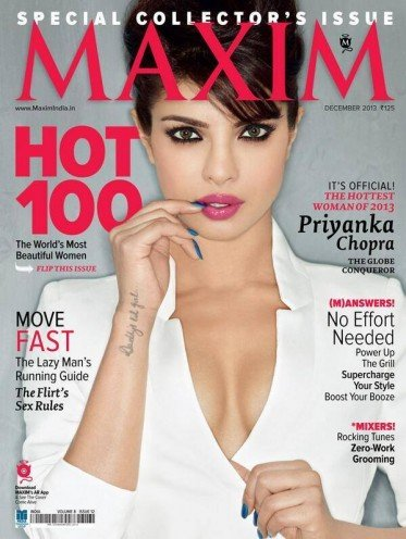 Priyanka Chopra Maxim Indias Hottest Woman of 2013