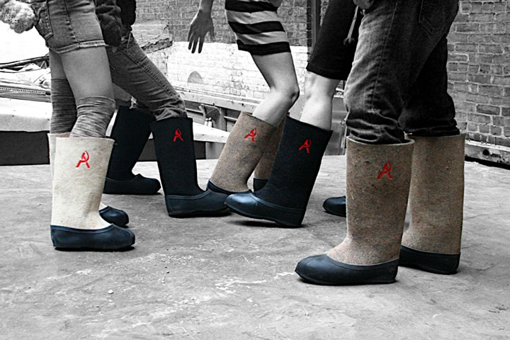 Valenki boots for womens