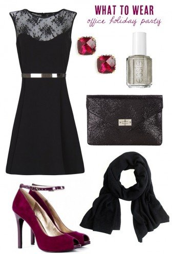 What to Wear to Your Office Holiday Party