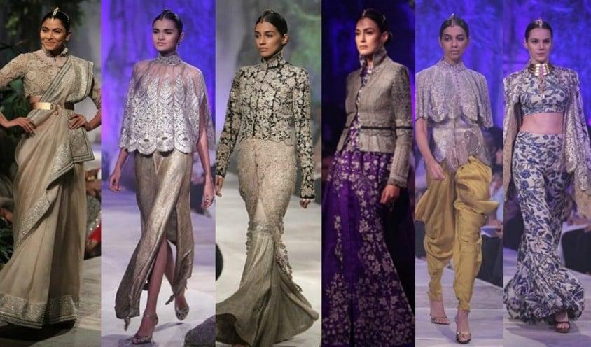 anamika khanna PCJ Delhi Couture Week 2013