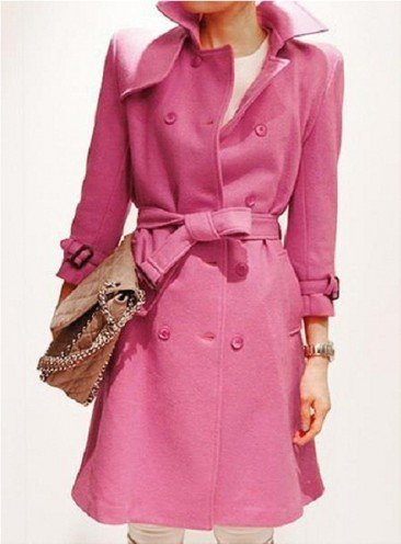 belted coat dress