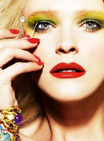 red lips for fair skin