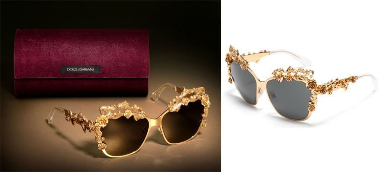 dolce and gabbana baroque sunglasses