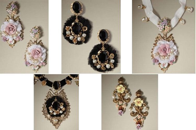 dolc  gabbana jewelry