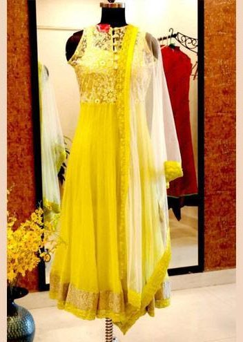gorgeous anarkali in hyderabad
