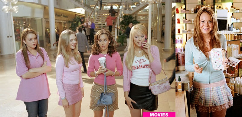 makeover in Mean Girls