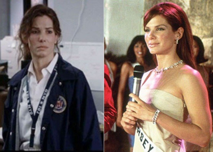 makeover in Miss Congeniality