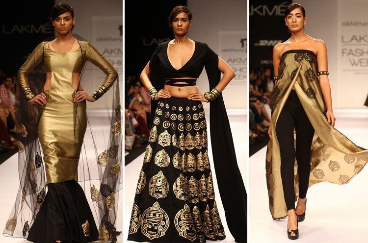 nikhil thampi lakme fashion week 2013