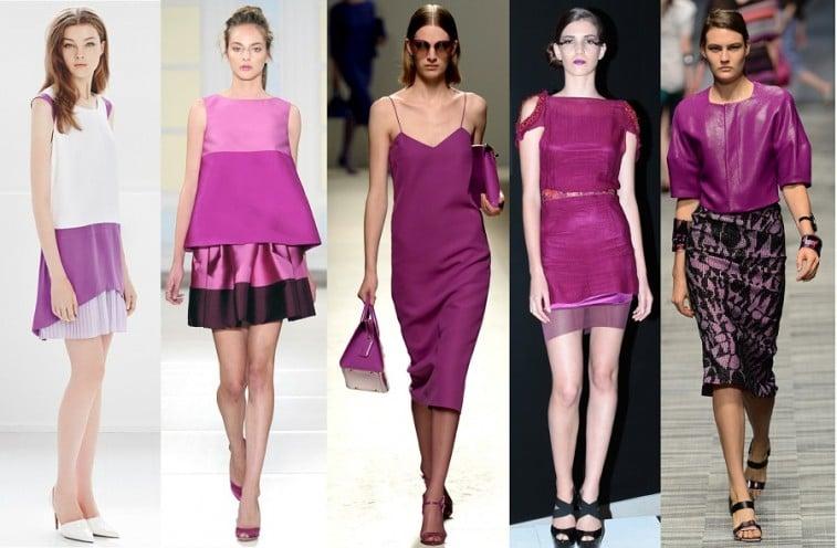radiant orchid purple color trend 2014