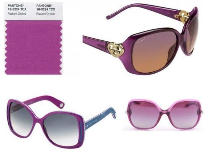 radiant orchid sunglasses