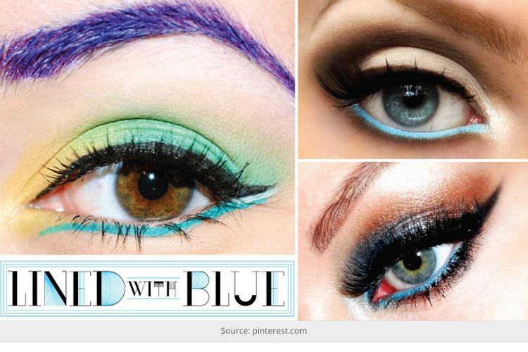 tips for colored eyeliner