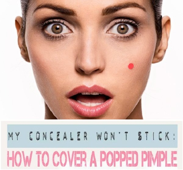 How to Hide Pimples with Make-up